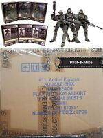 Halo Reach Square Enix Play Arts Figures Jun, Emile, Noble Japanese Import MISB