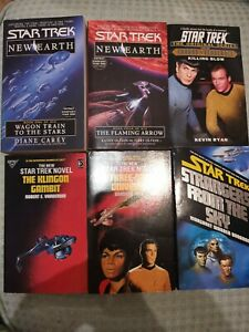 Star Trek 6 Book Bundle