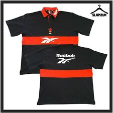 More details for wales rugby union shirt reebok xl vintage training polo jersey 2000s wru ss5