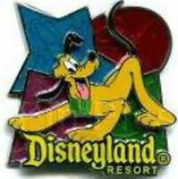 Collectible Disney Pin 49614 DLR Color Sketch Tiles Pluto Puppy Dog Best Friend