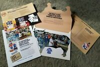 1983 Pabst BLUE RIBBON Beer advertising agency promo packet BARBECUE SWEEPSTAKES