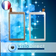 """Vitre ecran tactile pour ARCHOS 70 Platinum 3G 7"""" blanc"""