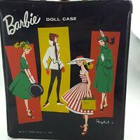 "12.5x11x3"" Vintage Mattel Barbie Doll Case Trunk PonyTail Black 1961 Original"