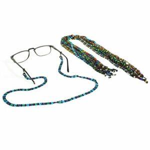 Artisan Daisy Czech Glass Beads Eyeglass Holder Lot Wholesale 3 Pack Assorted