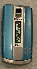 Samsung Hue Sch-R500 Blue (Alltel) Cellular flip cell Phone, no return