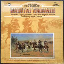 WESTERN FILM WORLD DIMITRI TIOMKIN Film Soundtracks LP Laurie Johnson Red River