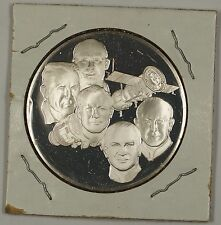 Postmasters of America Commemorative Issue Silver Medal Goddard Rocket