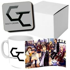 Guilty Crown - Anime - Manga - Coffee MUG CUP + Wooden Coaster - Japanese Anime