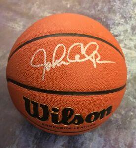GFA Kentucky Wildcats Coach JOHN CALIPARI Signed Autograph Basketball J3 COA