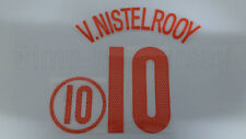 VAN NISTELROOY #10 Netherlands Away EURO 2004 Name Set