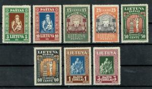 Litauen,Lithuania,Lietuva, Minr 364 - 371, ungebr mit Falzrest,gest Lot 74