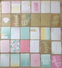 "Project Life Cards Becky Higgins Dreamy Edition 50 Karten 3x4"""