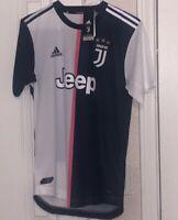 Juventus Adidas Men's 19/20 Authentic Home Jersey Black/White DW5456 Size M