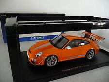 Porsche 911 ( 997 ) GT3 RS 4.0 - Orange - Autoart 1/18