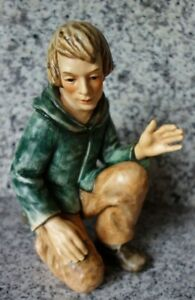 "Hummel Figur Hum 260/J ""Hirte kniend"" FM 8 * Figur der Jumbo Hummelkrippe * OVP"