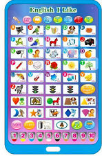 Newest English Computer Tablet Touch Learning Education Toy Games For Kids Gift