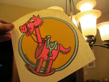 Rocky Horse vintage 70s iron on t shirt transfer full size