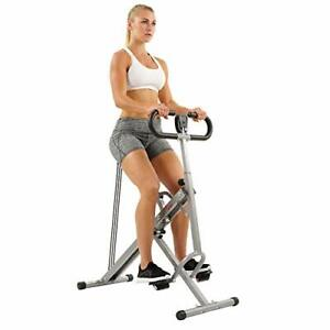 Sunny Health & Fitness Squat Assist Row-N-Ride Trainer for Glutes Workout