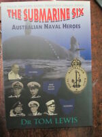 Biography Book about 6 Australian Navy Heroes Rankin Collins Submarine Six book