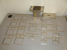 New listing used Baco Stainless Steel Film Developing Tank & 19 Hangers Free Shipping!