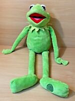 """Disney Store Stamped Jim Henson The Muppets Kermit The Frog 22"""" Soft Toy Plush"""