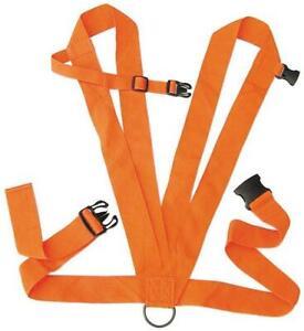 Allen Deluxe Deer Drag w/2 Shoulder Straps/Rop Blaze Orange 33