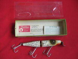 Creek Chub #3000 HUSKY PIKIE Fishing Lure - Silver Flash - #3018W - New in Box
