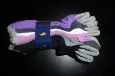 New Ralph Lauren Polo Women's 6 pair purple black double tab white grey
