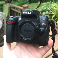 Nikon D90 DX-Format CMOS Digital SLR Camera - Body, Battery, and Charger