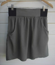 Supre Women's Black & Green Skirt with Pockets - Size XS