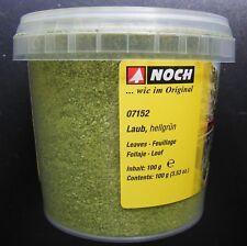 NOCH 07152 Laub, hellgrün, 100 g Dose, Neu