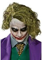 Joker Green Wavy Wig - Adult - One Size - Halloween Cosplay Batman Dark Knight