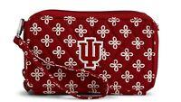 Vera Bradley NEW Indiana Hoosiers - RFID All In One Crossbody Bag Wallet Purse