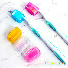 Hot 5X Portable Toothbrush Head Covers Case Outdoor Travel Camping Brush Cap AHY
