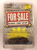 Jada Toys For Sale Series '65 1965 Shelby Cobra 427 S/C Rusty Red Die-Cast 1/64