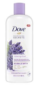 Dove Nourishing Secrets Bubble Bath Lavender and Chamomile 23 oz