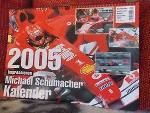 Kalender : Formel 1 - 2005 - Michael Schumacher - Impressionen