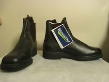 BLUNDSTONE *NEW* BROWN THOROUGHBRED DRESS BOOTS * MENS SIZE 6.5 / WOMEN SIZE 9