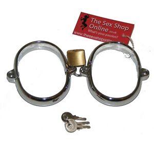 TheSexShopOnline - Metal Heavy Duty Hand Cuffs Bondage Restraint