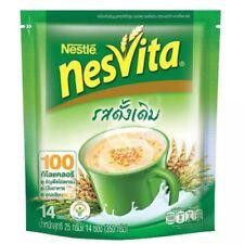 Nesvita Beverage Milk Instant Cereal Flake Breakfast Original Whole Wheat Grain
