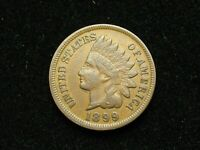 SUMMER SALE!! XF 1899 INDIAN HEAD CENT PENNY w/ DIAMONDS & FULL LIBERTY #183s