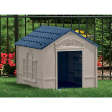 Xl Dog House Kennel For X-Large 100 Lbs Pet Outdoor Heavy Duty Doghouse Shelter