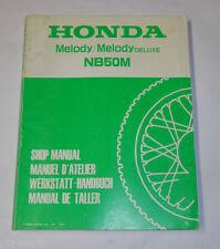 Werkstatthandbuch Honda NB 50 M Melody / Melody Deluxe Stand 1984