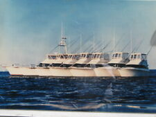 Ocean Yachts 1989 Promo Photo Mounted Poster