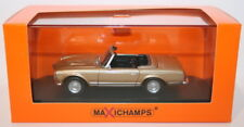 Maxichamps 1/43 Scale Diecast 940 032230 Mercedes Benz 230SL 1965 - Gold Met