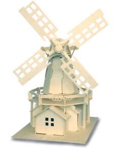 Windmill  QUAY Woodcraft Construction Kit FSC