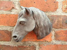 Horse Head Wall Plaque Garden Ornament Latex And Fibreglass Mould/Mold (WP3)