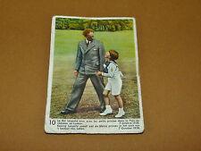 CHROMO 1939 CHOCOLAT COTE D'OR ENFANTS ROYAUX BELGIQUE 10 ROI LEOPOLD 1938