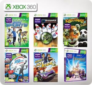 XBox 360 Kinect Games (Multi listings)