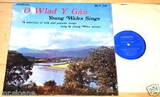 O WLAD Y GAN YOUNG WALES SINGS LP ~ MARY HOPKIN MARI GRIFFITH TRIBAN HENNESSYS